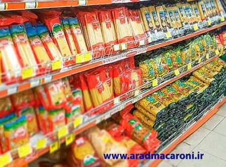 فروش عمده ماکارونی در بازار