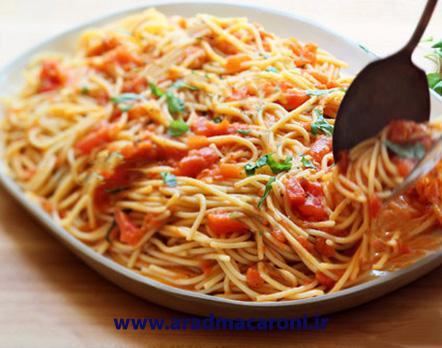 قیمت عمده انواع ماکارونی رشته ای و اسپاگتی