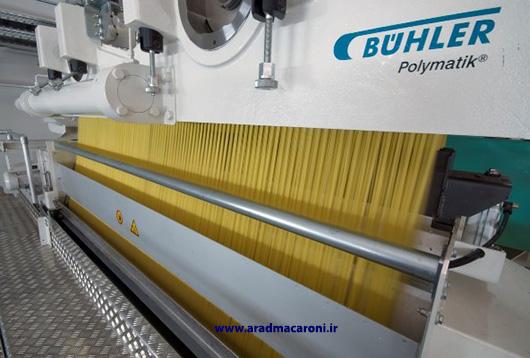 کارخانه تولید کننده ماکارونی اسپاگتی