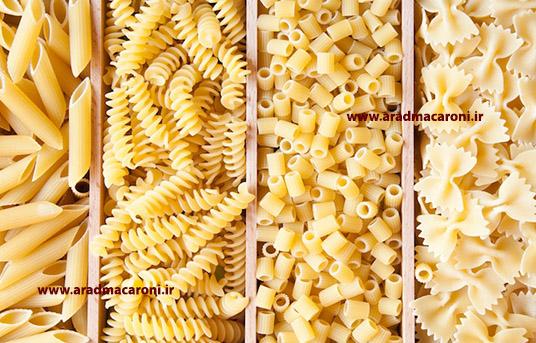تولید انواع ماکارونی فرمی صادراتی