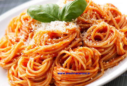 تولید و عرضه ماکارونی فرمی و اسپاگتی صادراتی