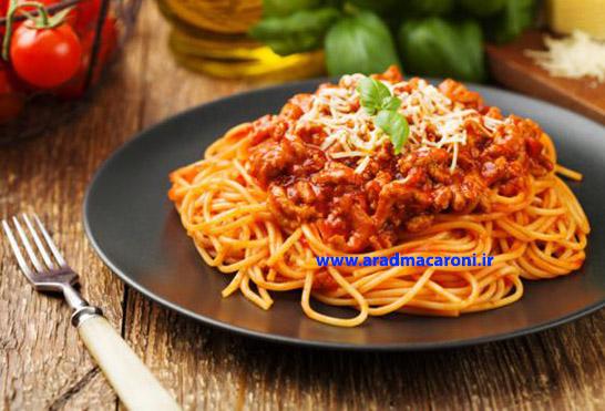 قیمت روز ماکارونی اسپاگتی صادراتی
